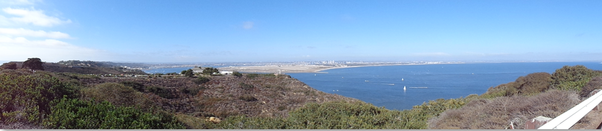 View of San Diego from Cabrillo