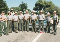 Park rangers at Cabrillo National Monument