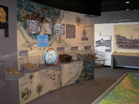 Exhibit Room at Cabrillo National Monument