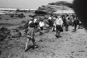 Visitors have been enjoying the tidepools at Cabrillo NM for many years
