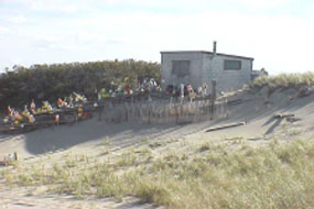 Dune Shack in the Peaked Hill Bars Historic District, Provincetown