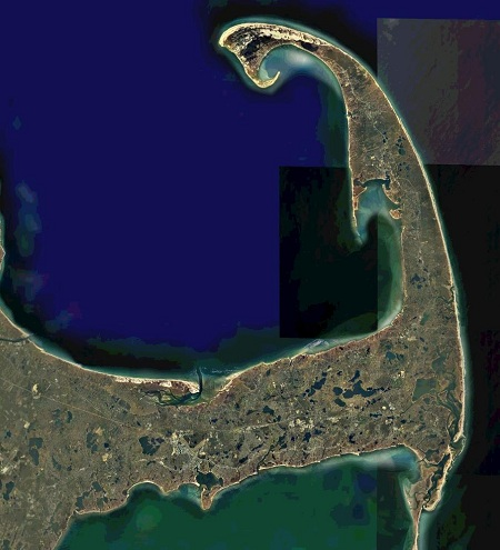 Cape Cod Satellite Imagery