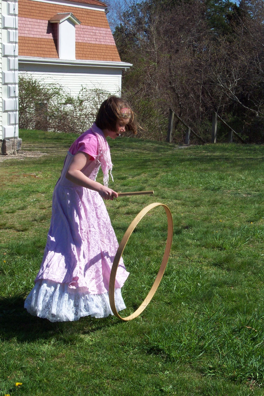 Penniman Day girl with hoop