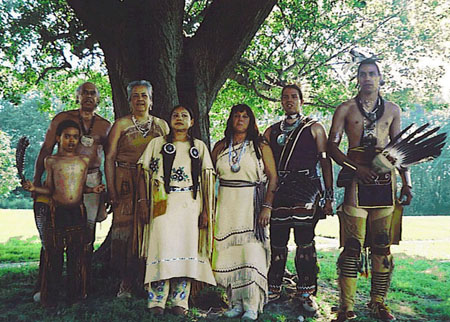 Wampanoag Nation Singers and Dancers