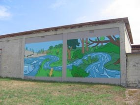 Highlands Center Herring Run Mural