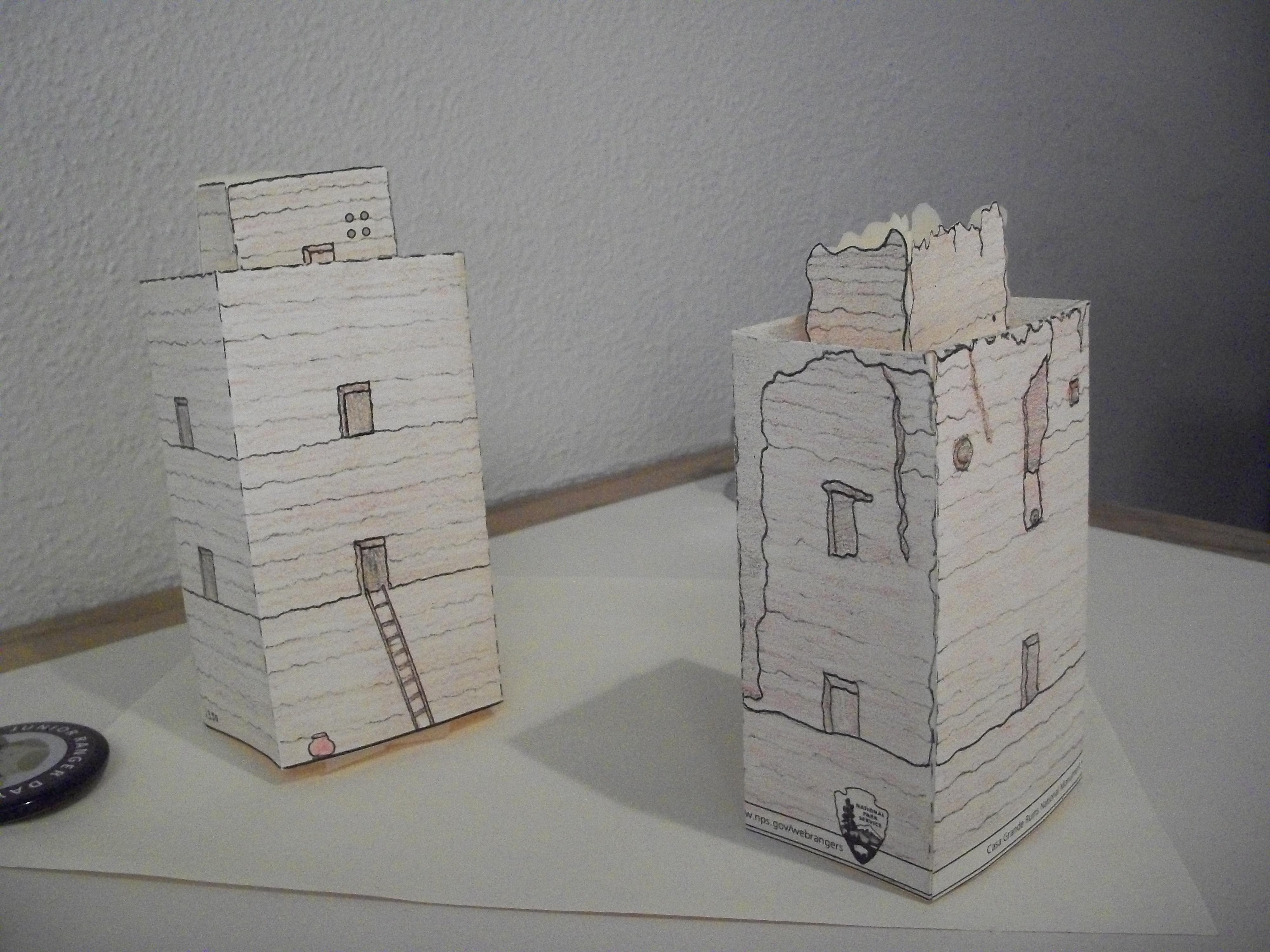 Make paper house model