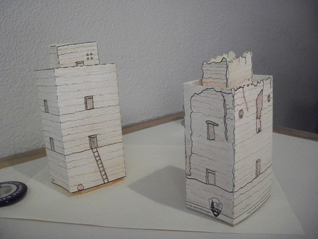 ruins models to make yourself