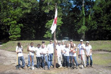 The Youth Conservation Corps crew for 2010