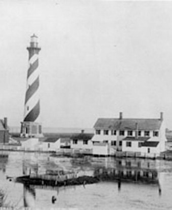 Cape Hatteras Light Station, 1893