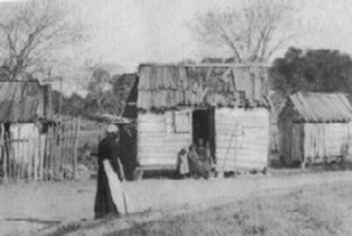 A Freedmen's Colony village