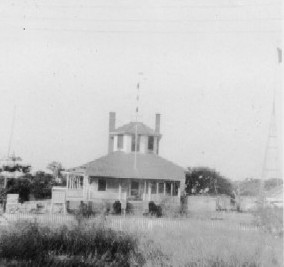 The US Weather Bureau Station on Hatteras Island in 1943