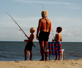 Fishing for Fun on Cape Hatteras NS