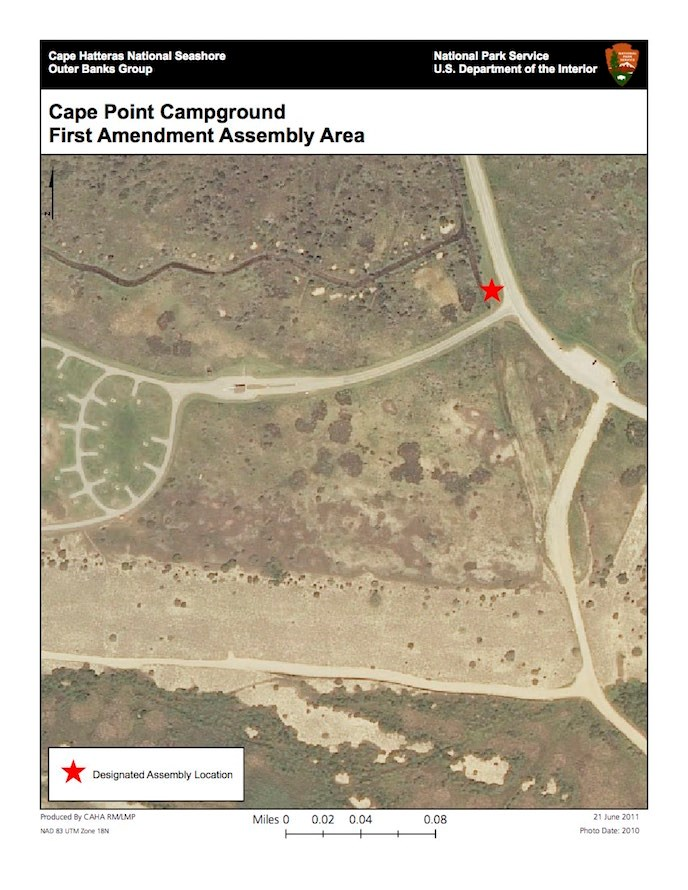Cape Point Campground First Amendment Assembly Area