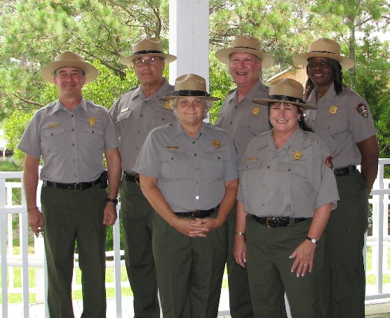 Teacher-Rangers for the Outer Banks Group, 2009