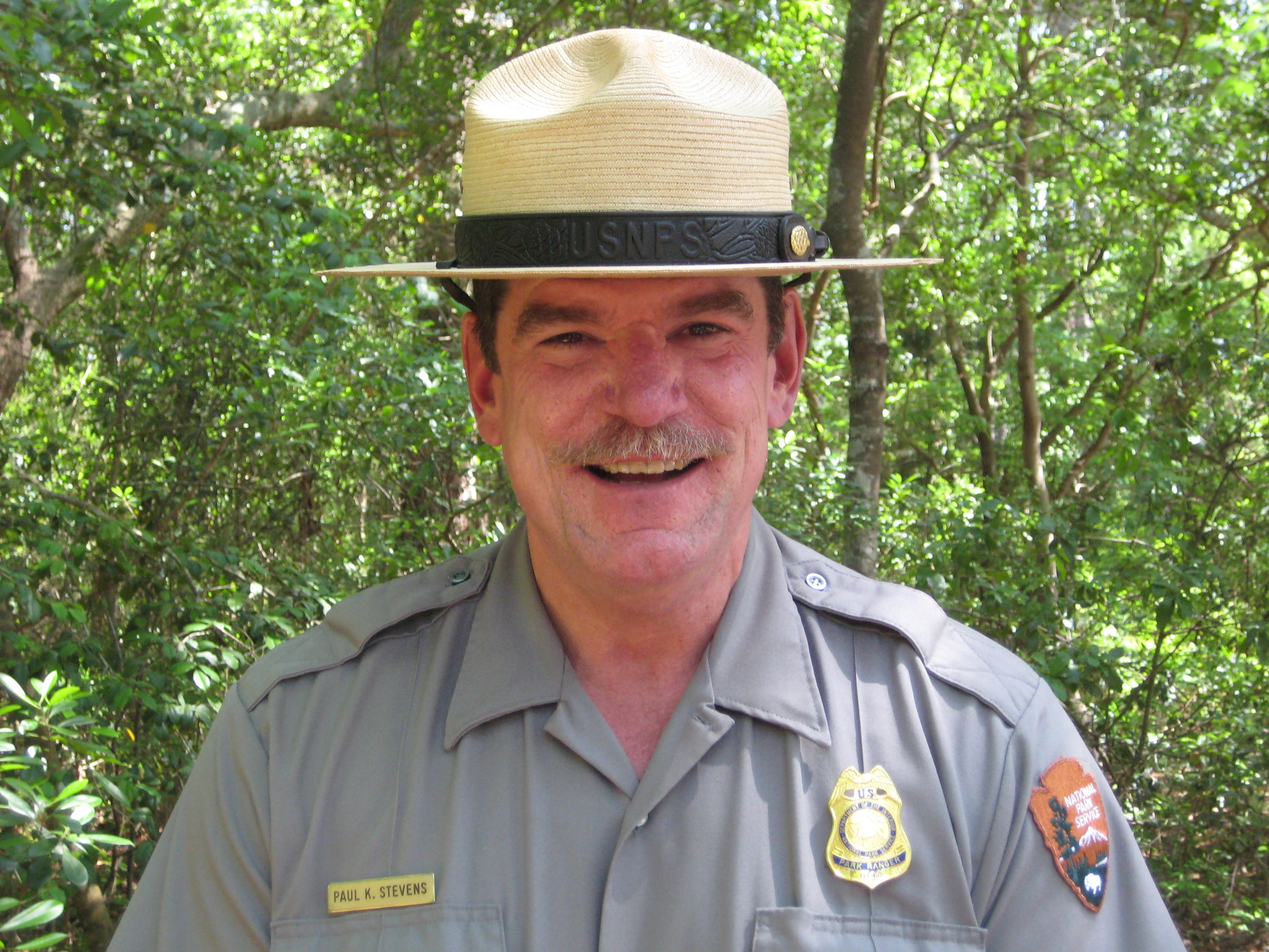 Chief Ranger Paul Stevens