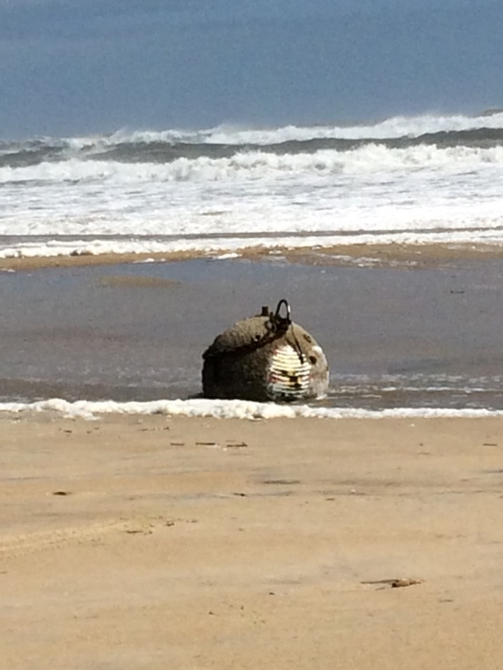 Potential Unexploded Ordnance Found On Beach In Avon North Carolina