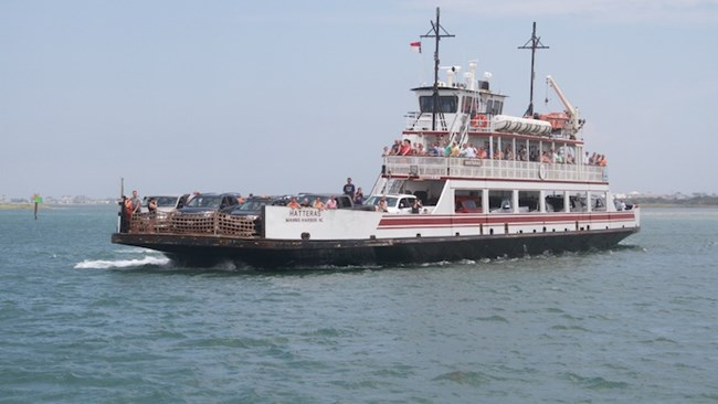 North Carolina Department of Transportation's Hatteras Inlet ferry