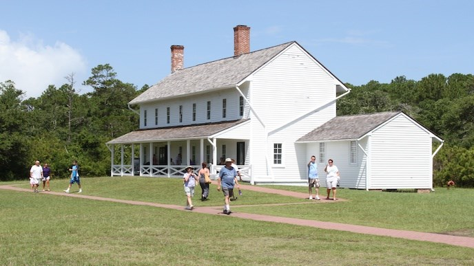 Hatteras Island Museum in Cape Hatteras Lighthouse's old Double Keepers' Quarters