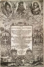 The title page to John Smith's 1612 book