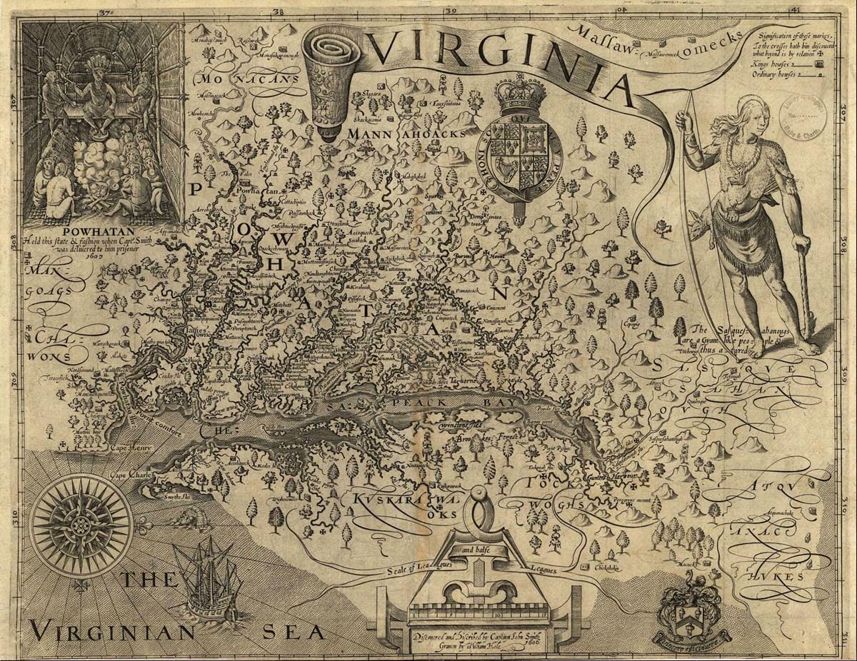 Smith Maps Captain John Smith Chesapeake National Historic Trail