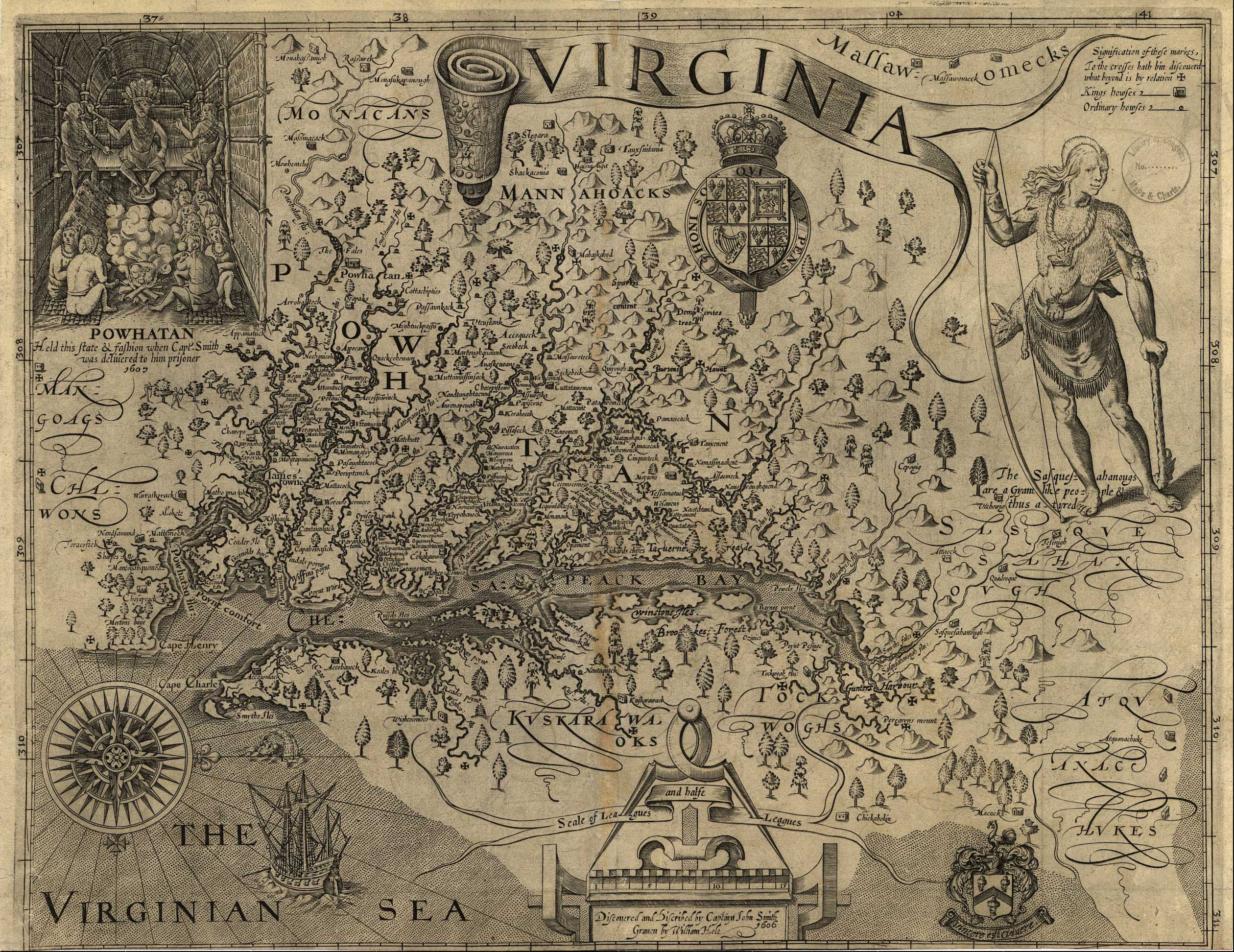 Maps Captain John Smith Chesapeake National Historic Trail US - Detailed map of virginia