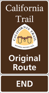 CALI_Original Route End sign