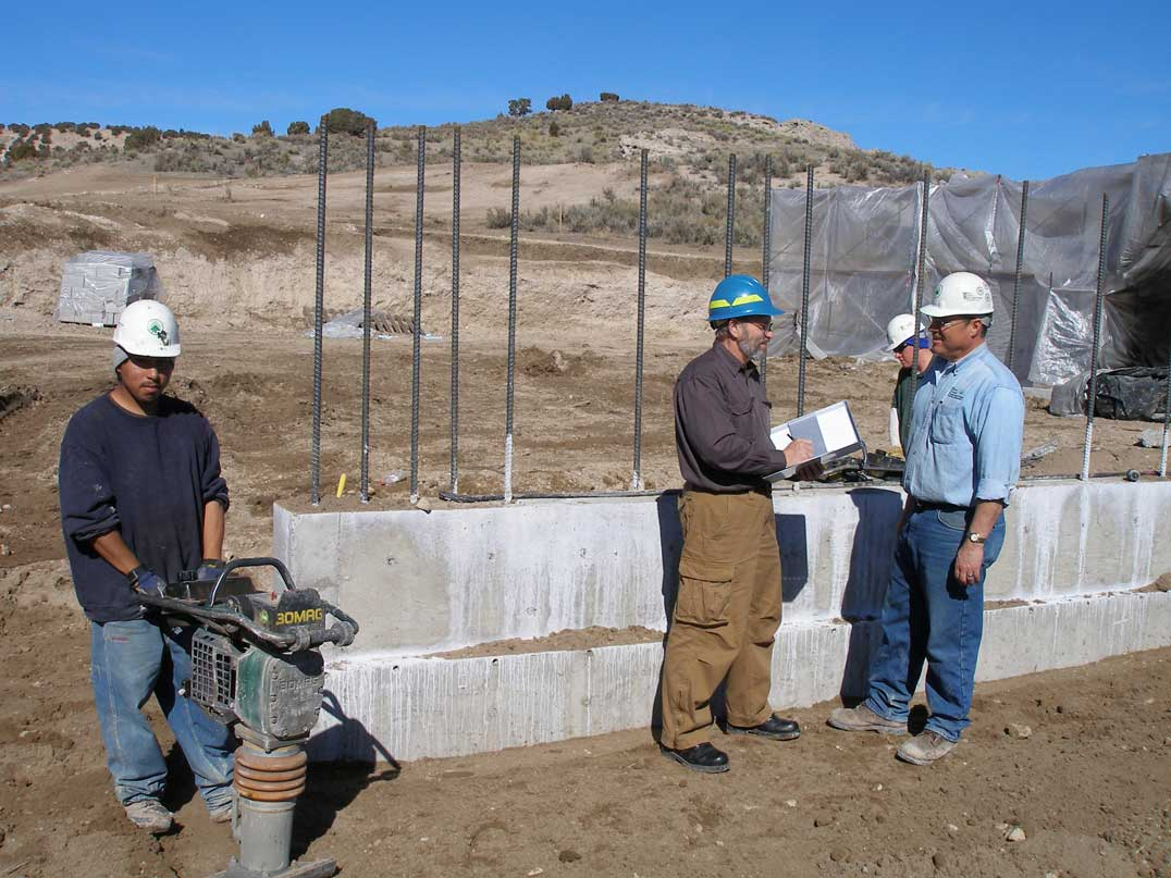 Construction begins on Elko's California NHT Interpretive Center.