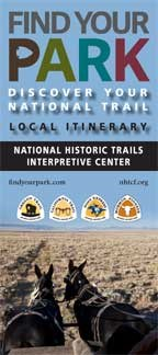 Four trails rack card Wyoming