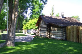 Photo image of Mormon Station State Historic Park in Nevada.