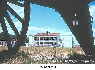 Image view of the BOQ Quarters at Fort Laramie National Historic Site in Wyoming.