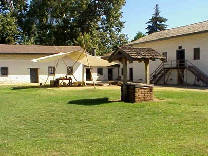 Image photo of Sutter's Fort State Historic Park in California.