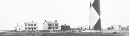 The Cape Lookout Light Station in 1913