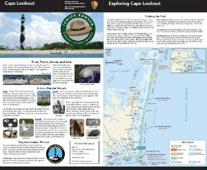 Cape Lookout Brochure for Kids