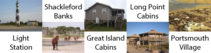 CALO Barrier Island Destinations