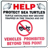 Turtle Nest Sign