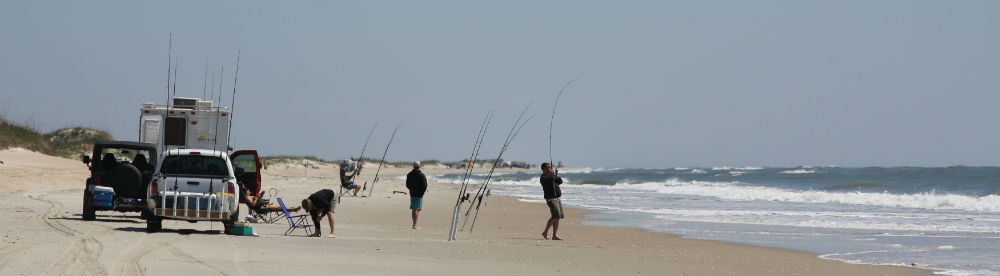 Beach driving cape lookout national seashore u s for Surf fishing virginia beach