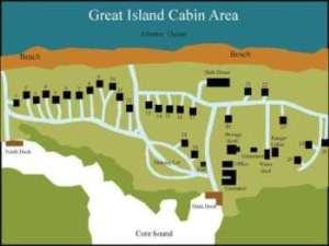 Great Island Cabin Camp