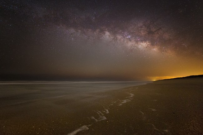 Canaveral National Seashore Night Sky