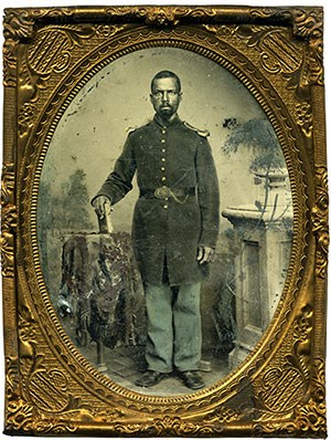 An African American Civil War soldier