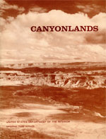 Cover of A Proposed Canyonlands National Park