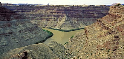 photo: The Confluence of the Colorado and Green rivers