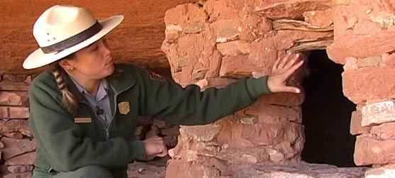 Karen Henker explains the role of various structures in the lives of the ancestral Puebloans.