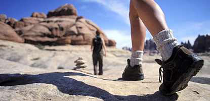 Hikers in the Needles District
