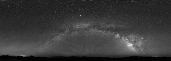 Night sky from the Burr Trail