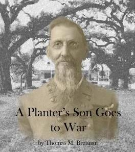 "Cover of the booklet ""A Planter's Son Goes to War"" featuring the photograph of Civil War Veteran J. Prud'homme"