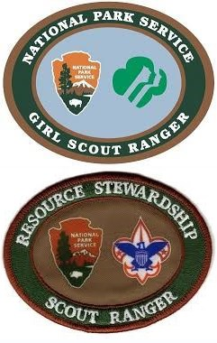 2 scout patches