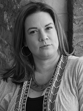 writer in residence Kimberly Simms