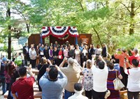 Citizenship Ceremonies - Partnerships (U S  National Park Service)