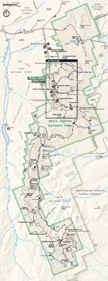 Park Map - From Park Brochure