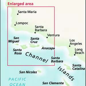 Area Map - Channel Islands National Park